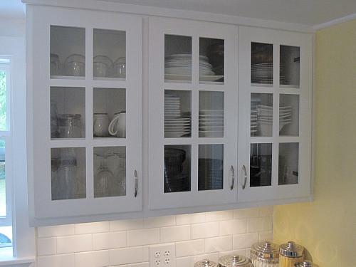 Upper Kitchen Cabinets White Lower In Oak
