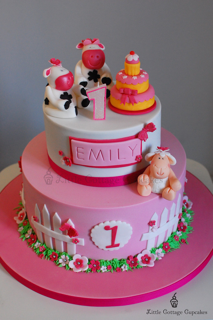 My Baby Girl Is 1 This Is The Birthday Cake That I Have