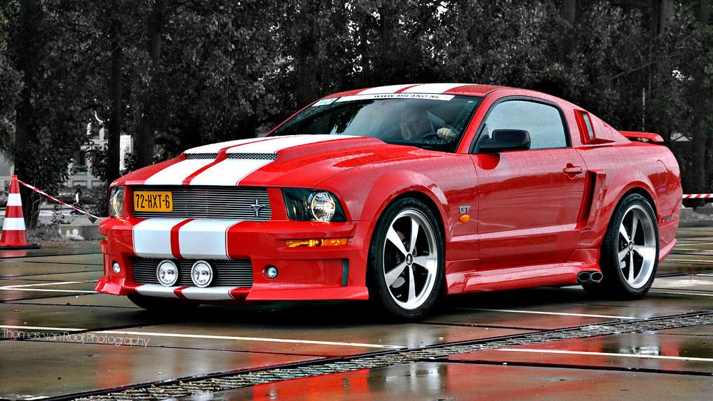 Ford Mustang Gt Eleanor By Thomas Van Rooij
