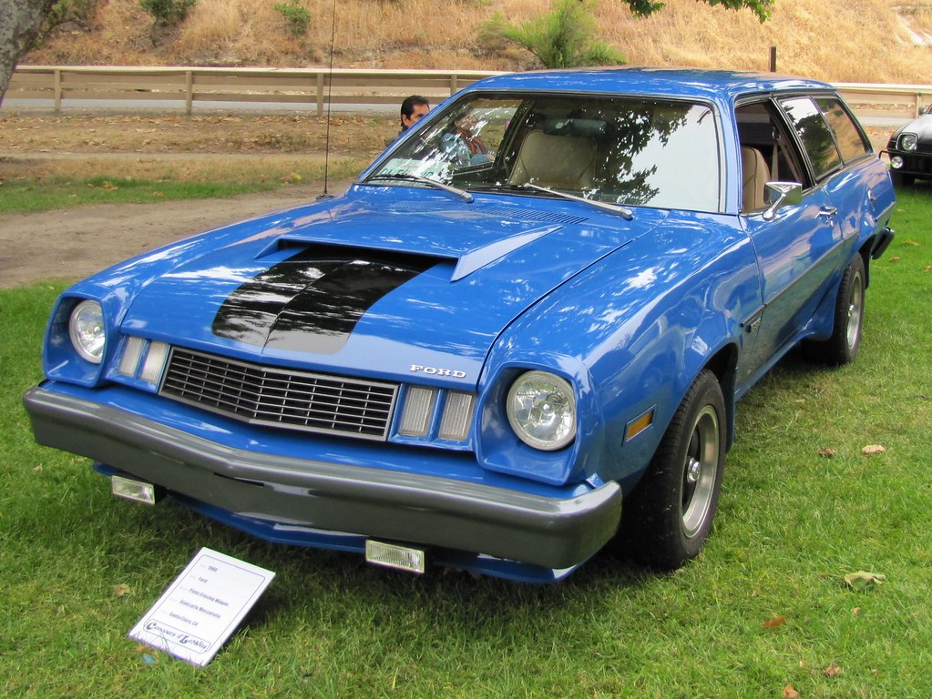 1977 Ford Pinto Cruising Wagon | Seen at the Concours d ...