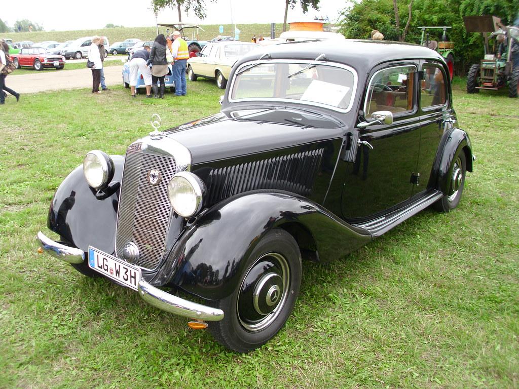 Mercedes benz w136 170 v 1949 1 bleckede 2010 hog for 1949 mercedes benz