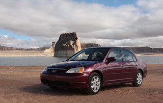 '03 Civic and Lake Powell, AZ | by Picture_taking_fool