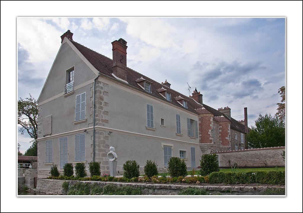 Milly la foret la maison de jean cocteau vue du jardin lain g flickr - Maison de jean dujardin ...