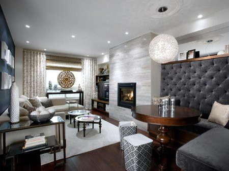 Candice Olson Portfolio Wide View Of A Family Room With
