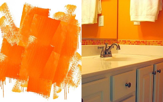 Bright Orange Paint Color Flickr Photo Sharing