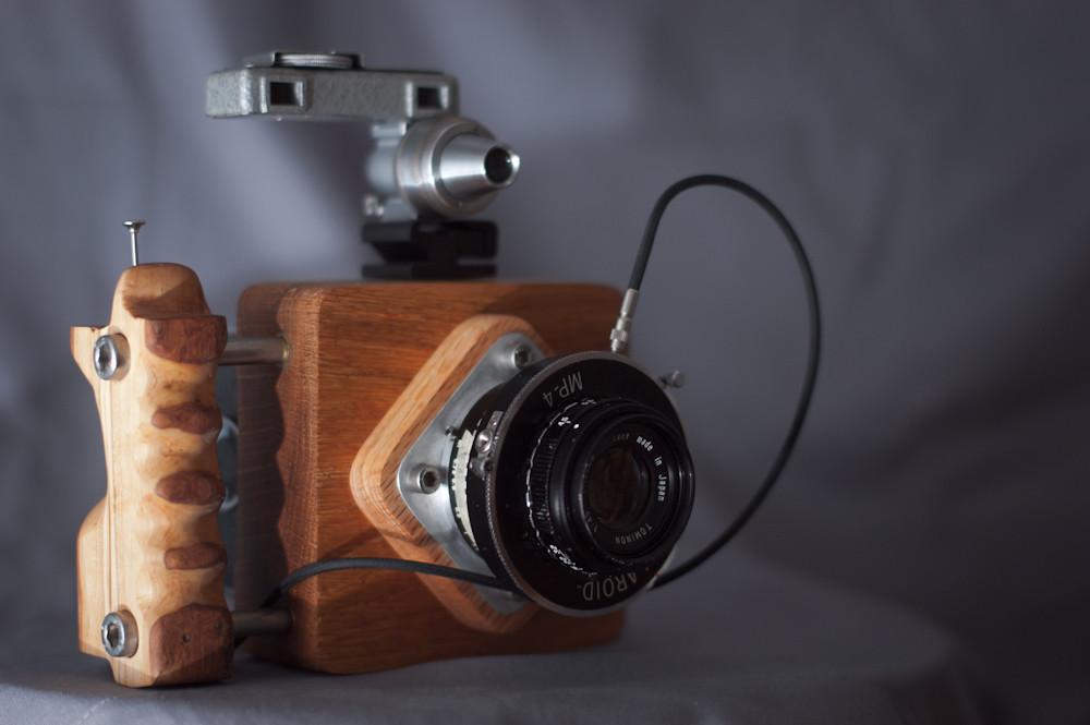 6x6 Diy Camera Just Finished Yesterday I Made This