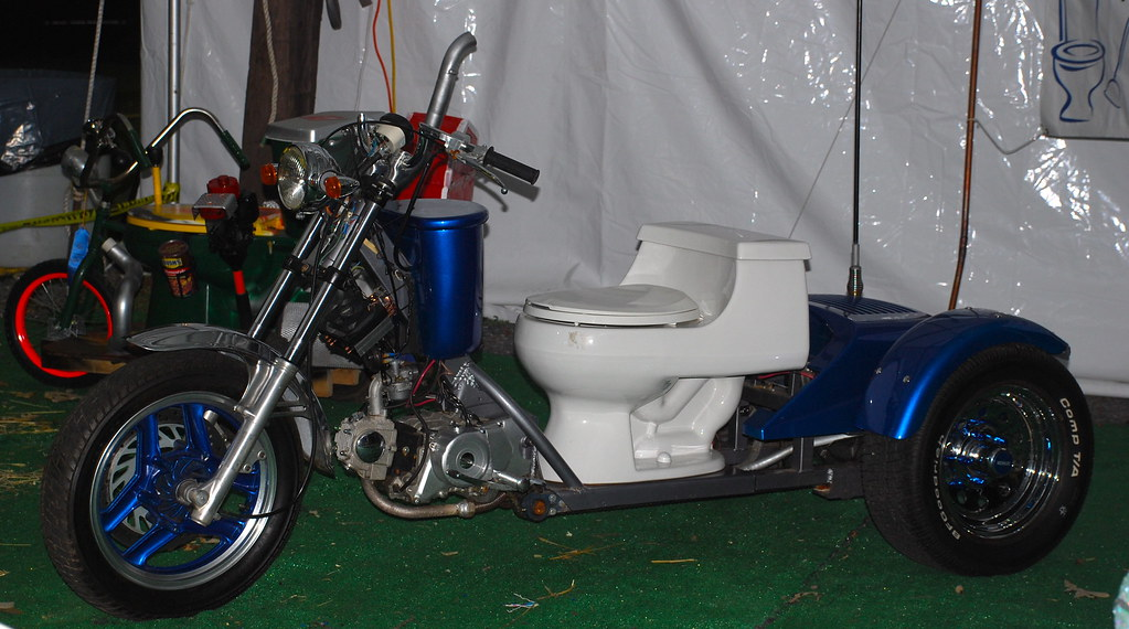World Of Wheels >> Toilet on wheels | Decorated toilets at the Montgomery ...