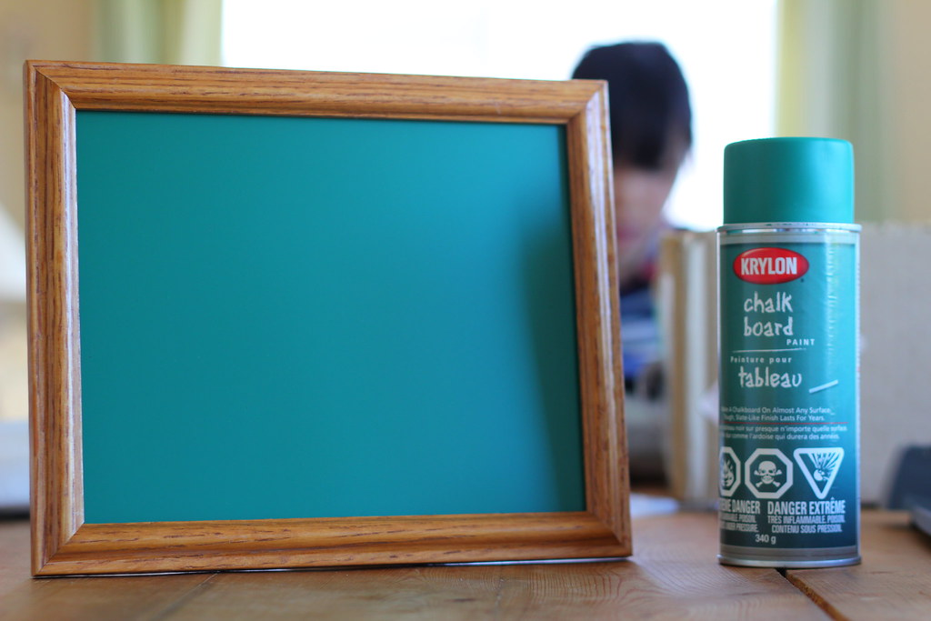 Chalkboard Paint Picture Frame Thom Wong Flickr