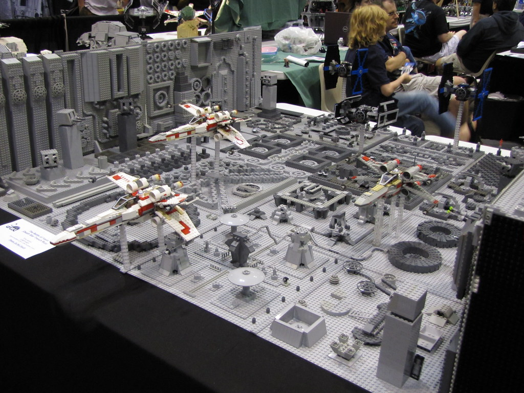 Star Wars The Celebration V Lego Death Star 2 Rbasallote Flickr