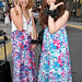 Japanese Girls in Flower Dresses