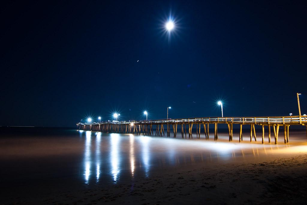 Virginia Beach Full Moon