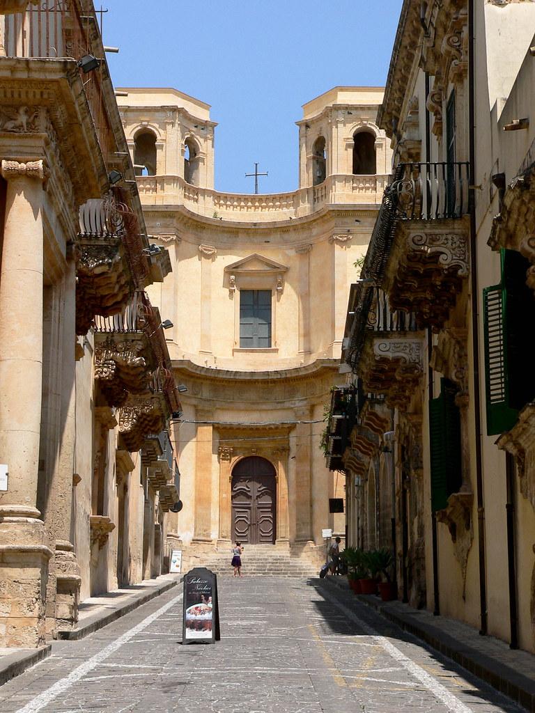 Chiesa Di Montevergini  Noto