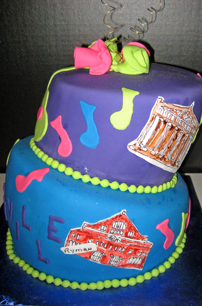 Nashville Tn Birthday Cake Shara Lunn Flickr