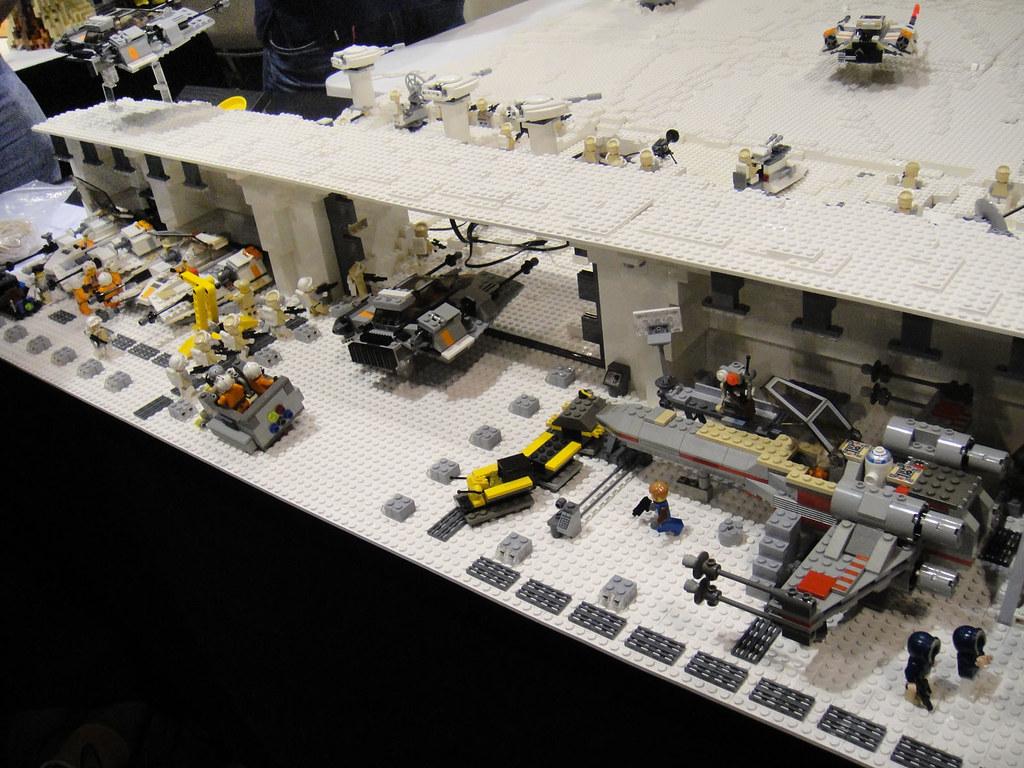 Star Wars Celebration V Lego Diorama Hoth Echo Base Ha