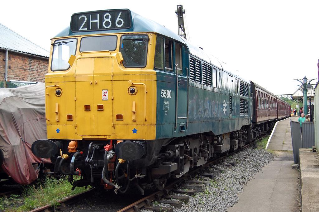 ... D5580 (31162), Elsecar Heritage Railway 30 August 2010   by jrs1967_1
