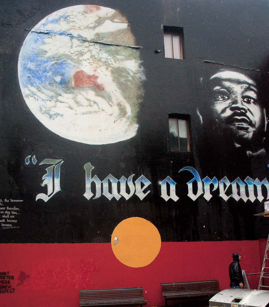 I Have A Dream Famous Mural In Newtown Sydney Rob Wood Flickr