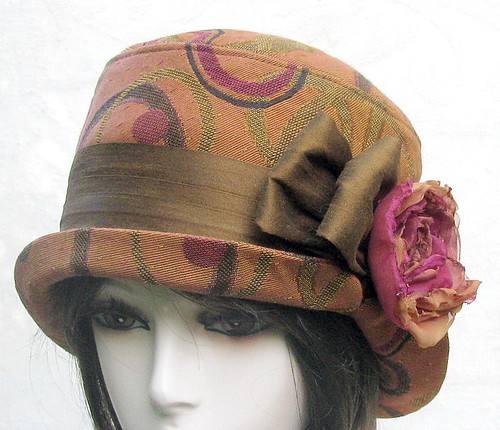 Earth Tones and ready for fall hat