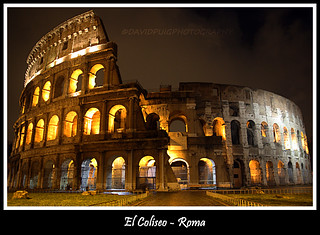 Coliseo Romano / Roman Colosseum | by davidpuig | photography