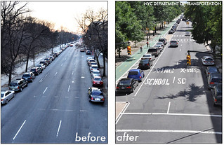 NYC - Prospect Park West - Before & After | by Complete Streets