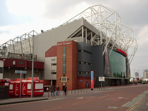Old Trafford East Stand