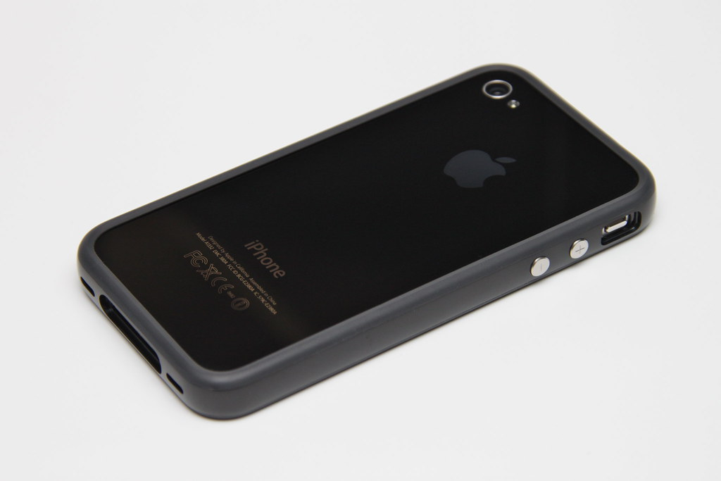 IPhone 4 Black Bumper Black Back
