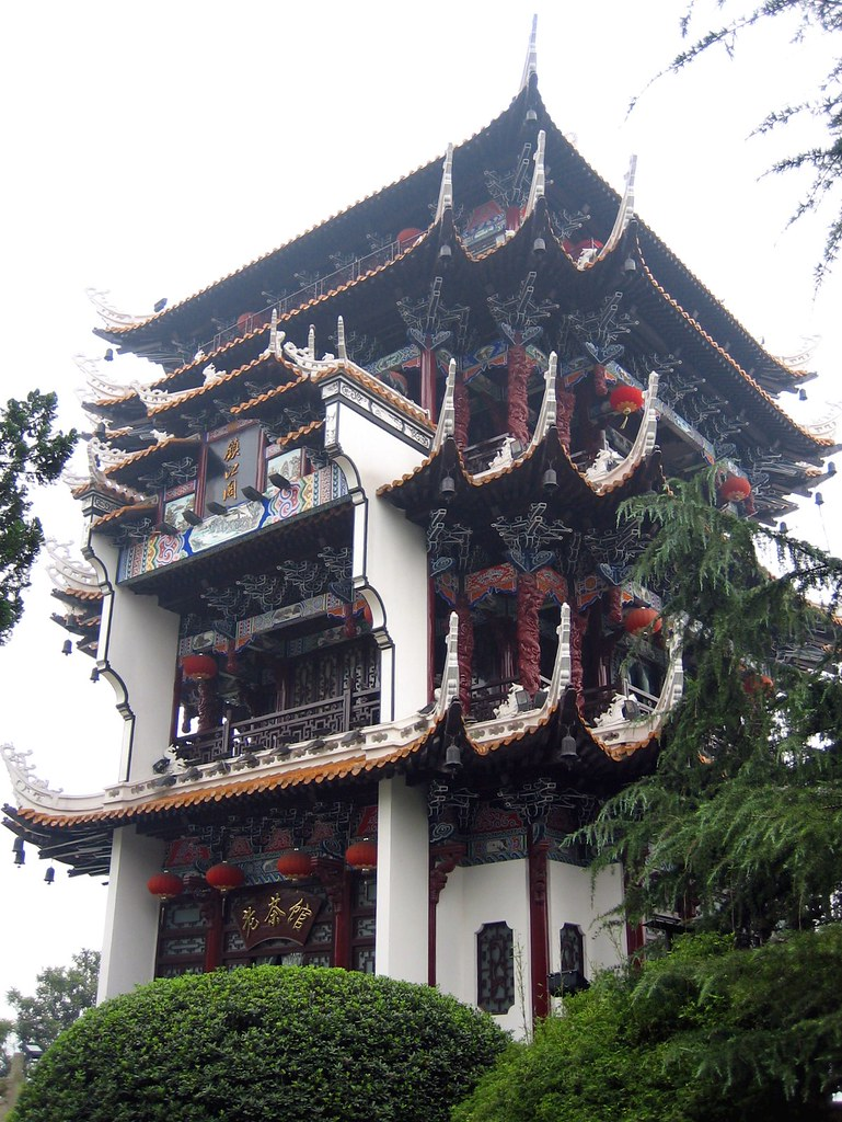 Beautiful tea house with traditional chinese architecture flickr - Houses bucovina traditional architecture ...