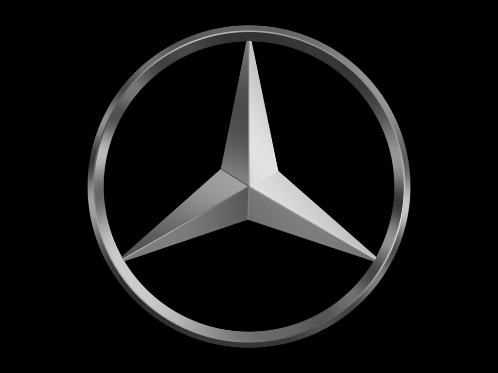 Mercedes Three Pointed Star Logo I Couldn T Find A Nice Me Flickr