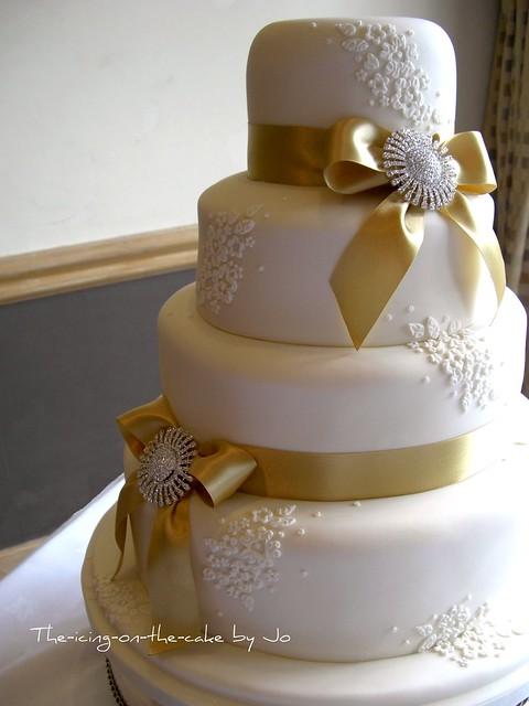 Gold Finally Cake Topper Acrylic