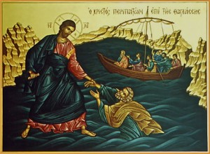 miracle-christ-saving-peter-on-the-water-0 | by Saint Nicholas Orthodox Church