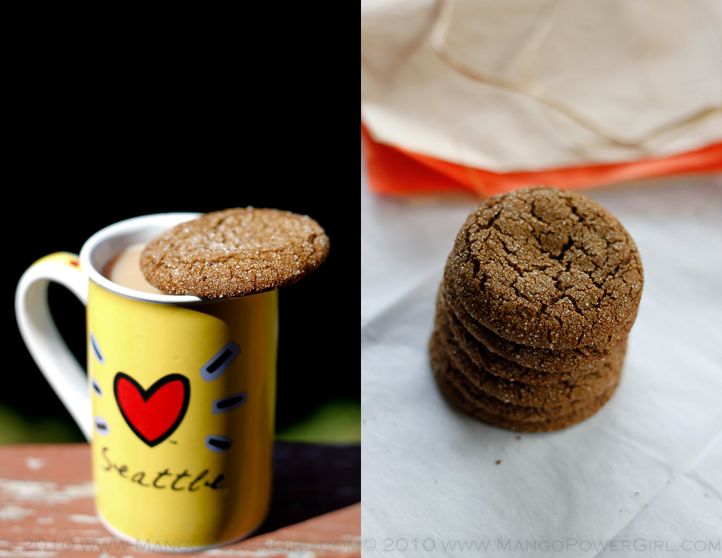 chai & spicy molasses cookies