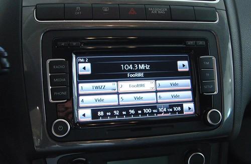 Volkswagen Polo Radio Rcd 510 Touchscreen Radio Cd Aux
