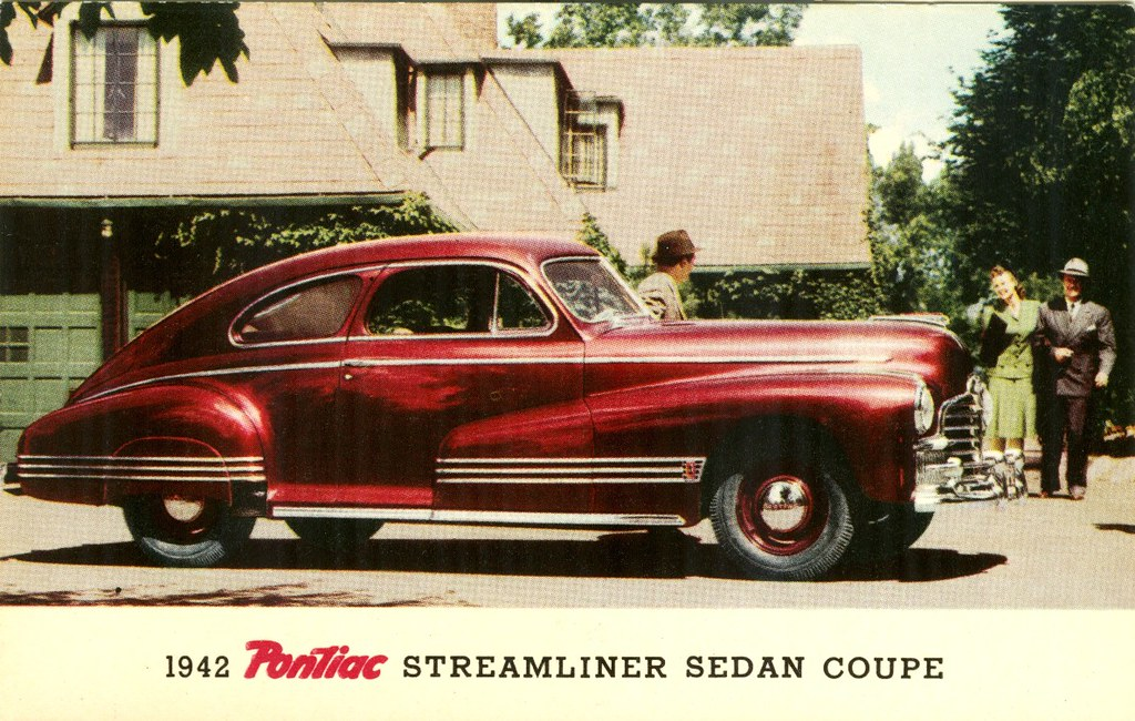 1942 pontiac streamliner sedan coupe alden jewell flickr 1942 Pontiac Custom 1942 pontiac streamliner sedan coupe by aldenjewell