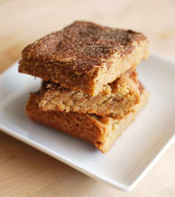 Snickeroodle Blondies