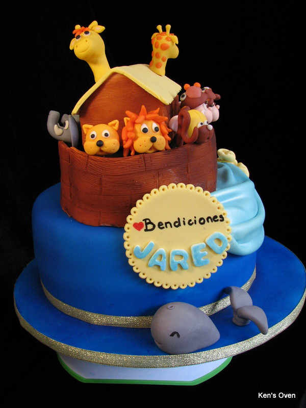 Noah S Ark For A Baby Shower Noah S Ark The Base Is A