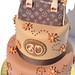 Louis Vuitton Purse Cake