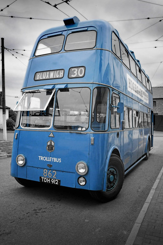 UK - The Midlands - Black Country Museum - Trolleybus | by Darrell Godliman