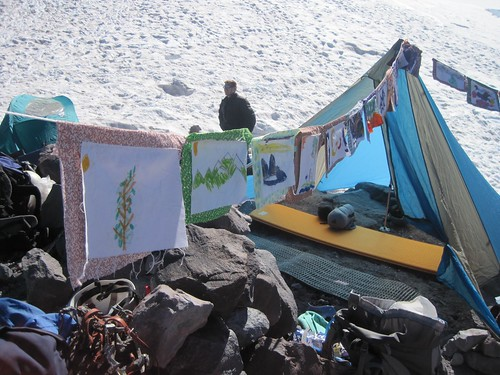 Children's Art at Base Camp | by Climb Against Coal
