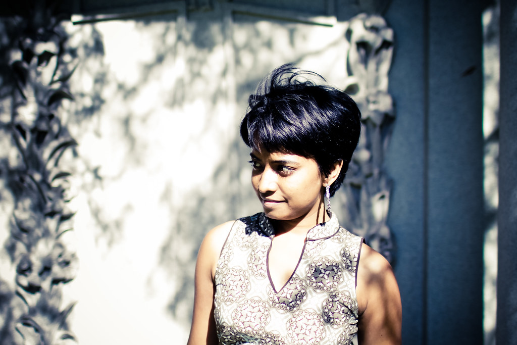 divya in dappled light