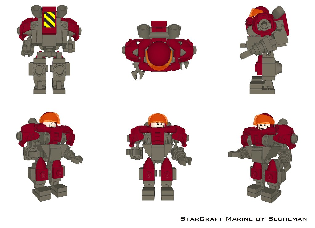 Lego Space Marine How To Build