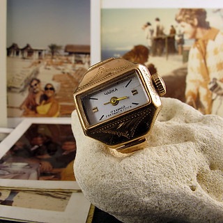 Gold Ring Watch   shop erstwhilejewelry com/   Erstwhile