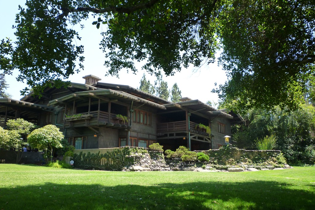 Gamble House Arts And Crafts Architecture In Pasadena
