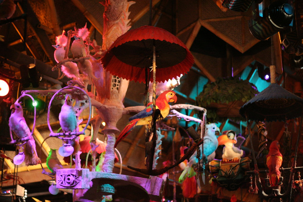 Disney Enchanted Tiki Room Under New Management