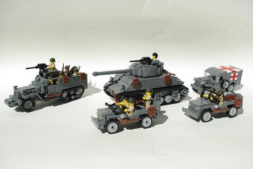Lego World War Ii Vehicles So Far M4a3 76 W Quot Sherman