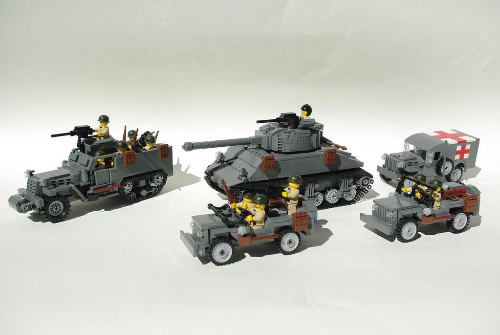 Lego World War Ii Vehicles So Far M4a3 76 W Quot Sherman