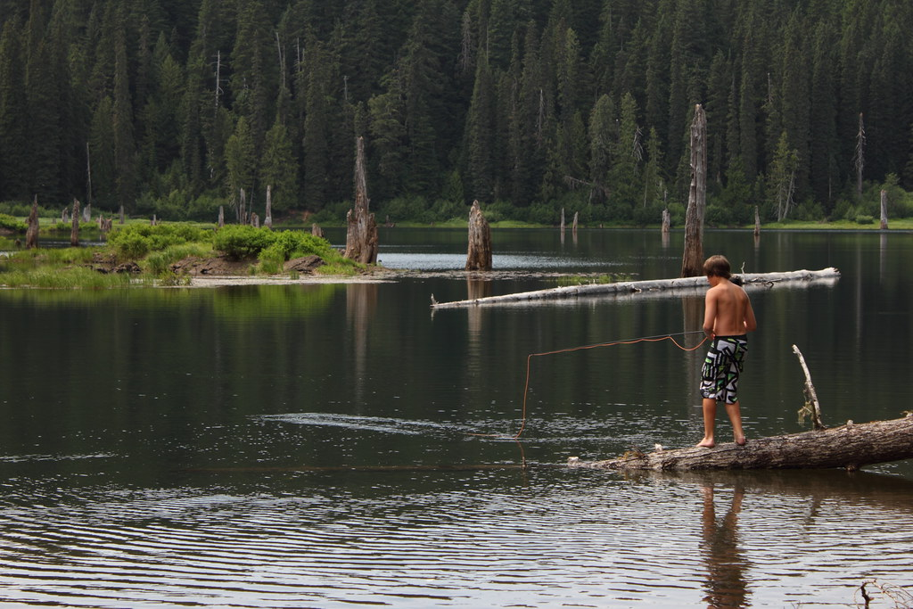 Fishing in goose lake washington near the town of trout for Nearest fishing lake