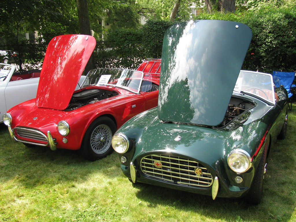 1963 Shelby Cobra 260 and 1957 AC Ace Bristol | . | Bill Cook | Flickr