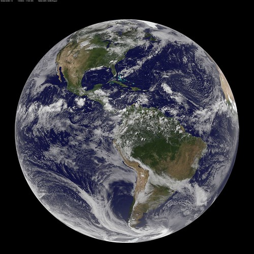 NASA GOES-13 Full Disk view of Earth August 3, 2010 | by NASA Goddard Photo and Video