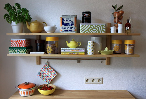 Kitchen shelves | by ancema