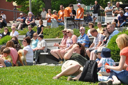 Instigators at harbouside Park Audience | by Wreckhouse Jazz & Blues