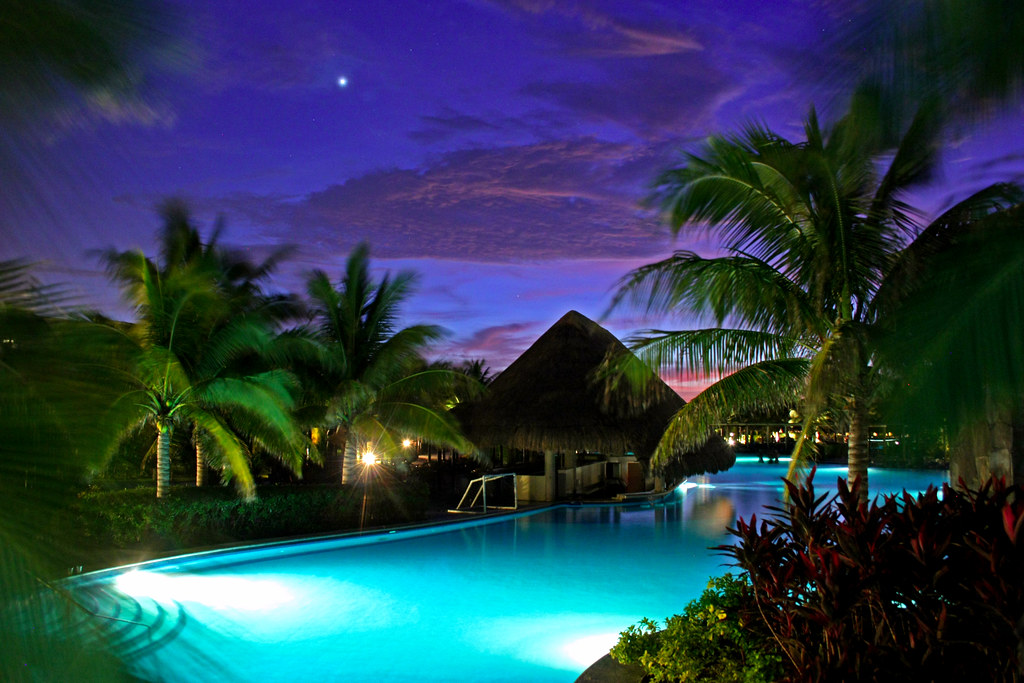 ... Hotel Valentin Imperial, Riviera Maya (Venus In Background) | By Blobber
